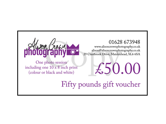 Master Gift voucher
